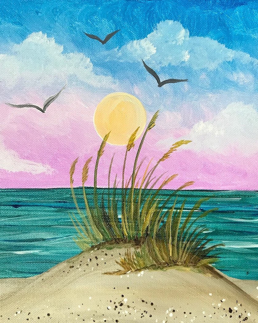 Paint and Sip in Alameda - Alameda Pinot's Palette