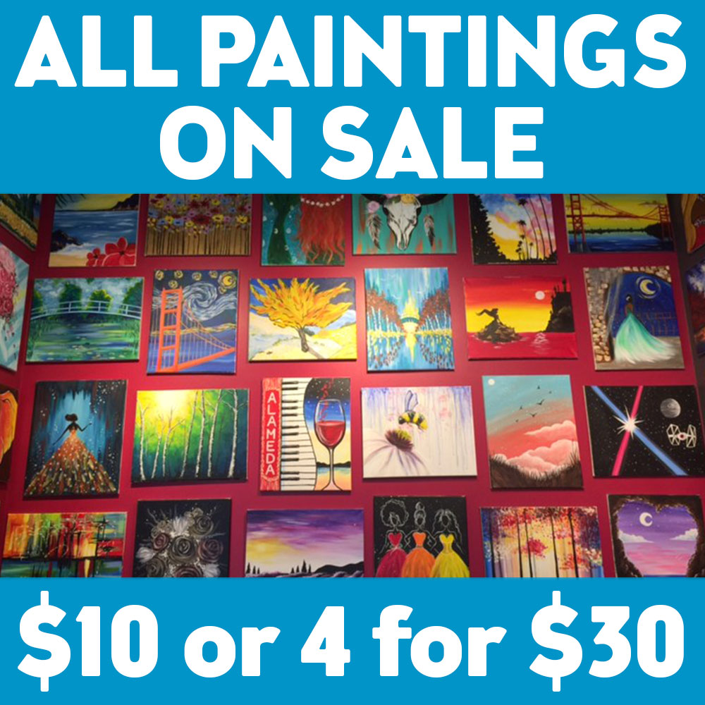 Painting Sale $10 Today Only