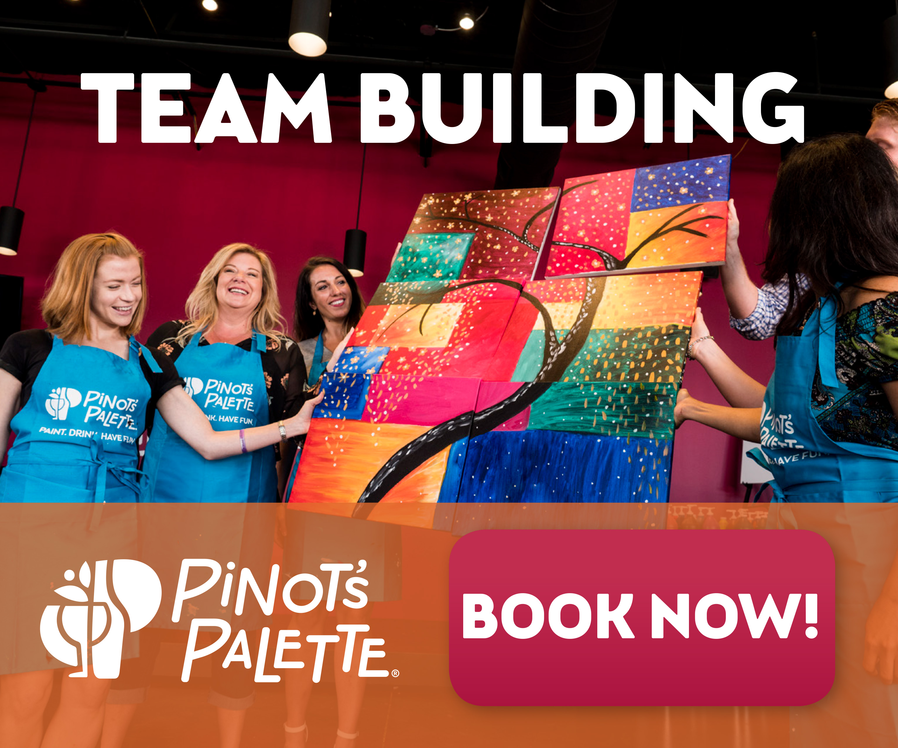 Team Building with Pinot's Palette