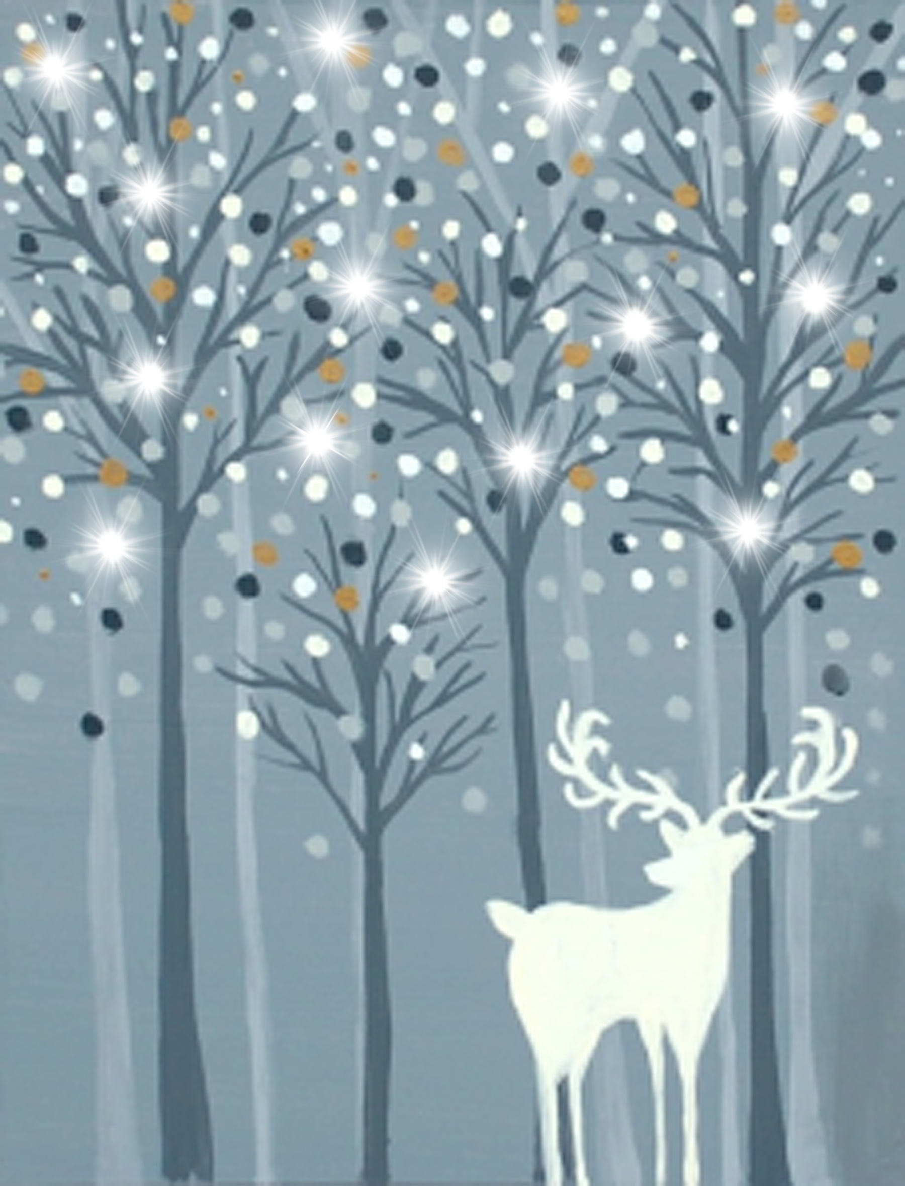 Easy Winter Kids Crafts That Anyone Can Make: Paint And Sip In Buffalo-Amherst