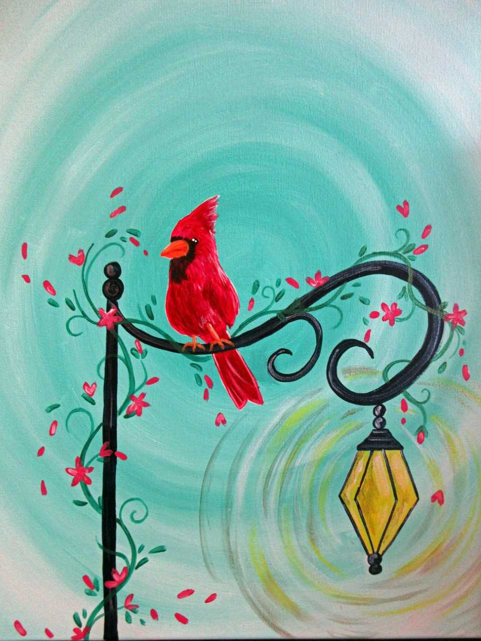 Little Red Songbird
