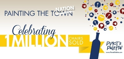 One Million And Counting! Pinot's Palette hits milestone in number of seats sold