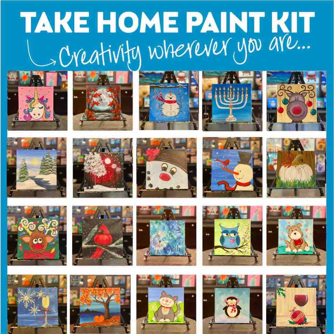 Holidays At Home Self Guided Kits * Order Today - Pickup Tomorrow