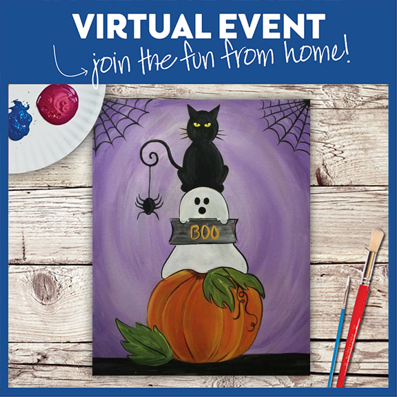 Halloween At Home - Live Virtual Class