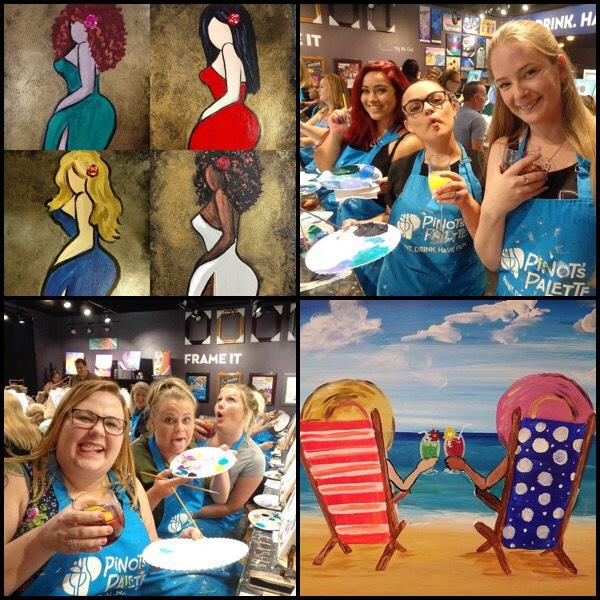 Girls Just Wanna Have Fun Join Us For A Painting And Wine Class For