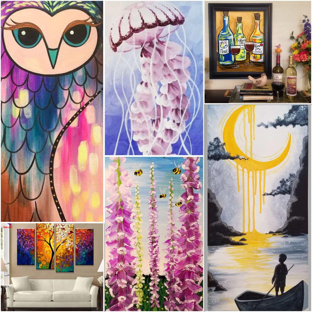 Decorate Your Home With Your Handmade Artwork!