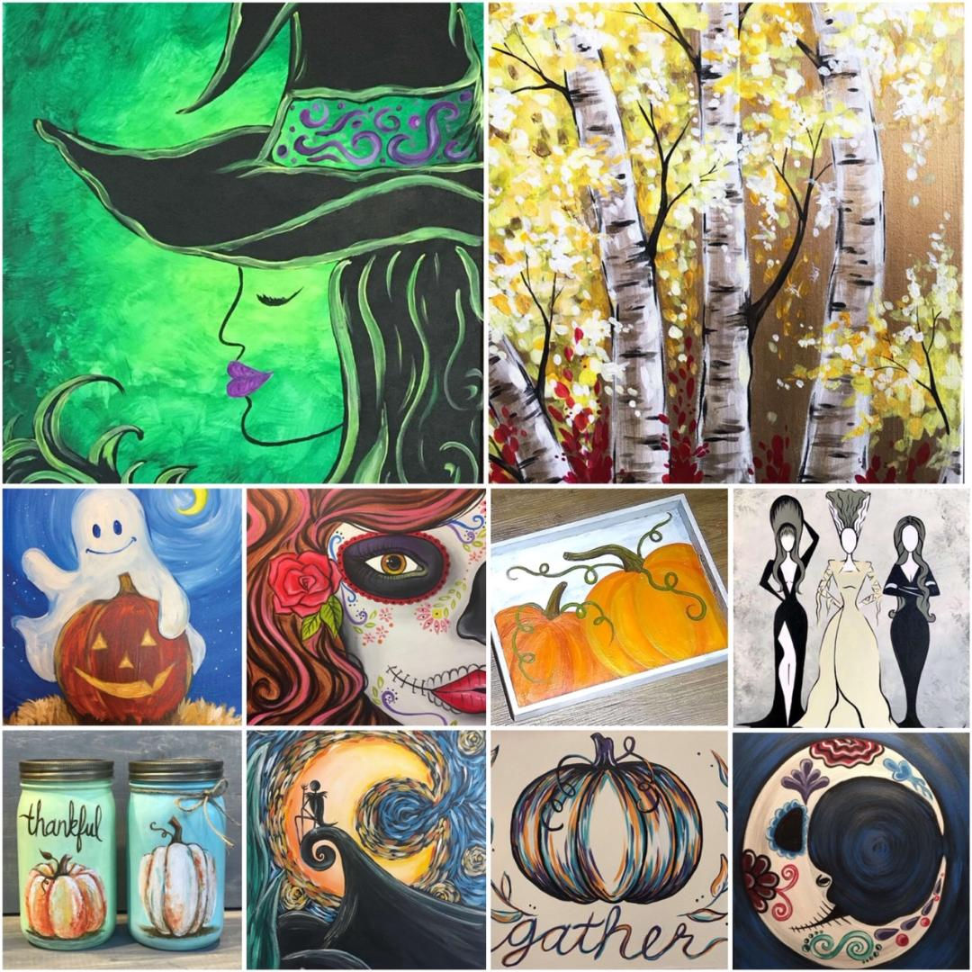 Make Some Decor For Your Home With Our Fall & Halloween Classes!