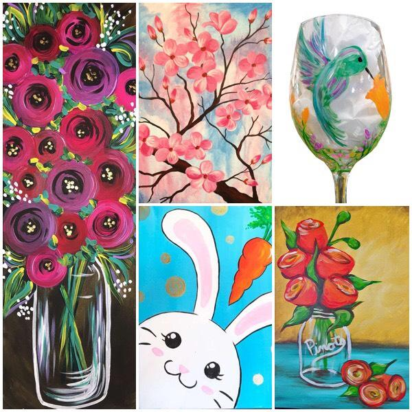 Spring-Themed Artwork To Liven Up Your Home With Bright & Cheery Style!