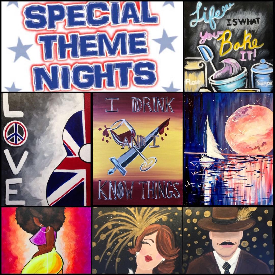Join Us For Our 'Thursday Theme Nights', All January Long!!!