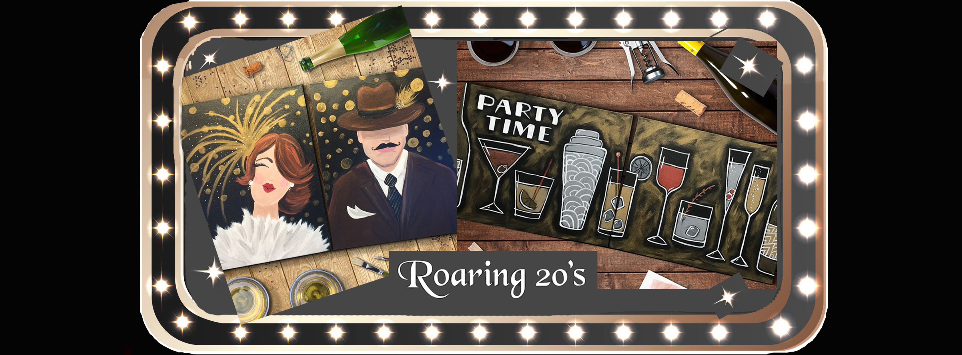 Join Us For Our Fabulous 'Roaring' 20's Party To Celebrate The New Year!