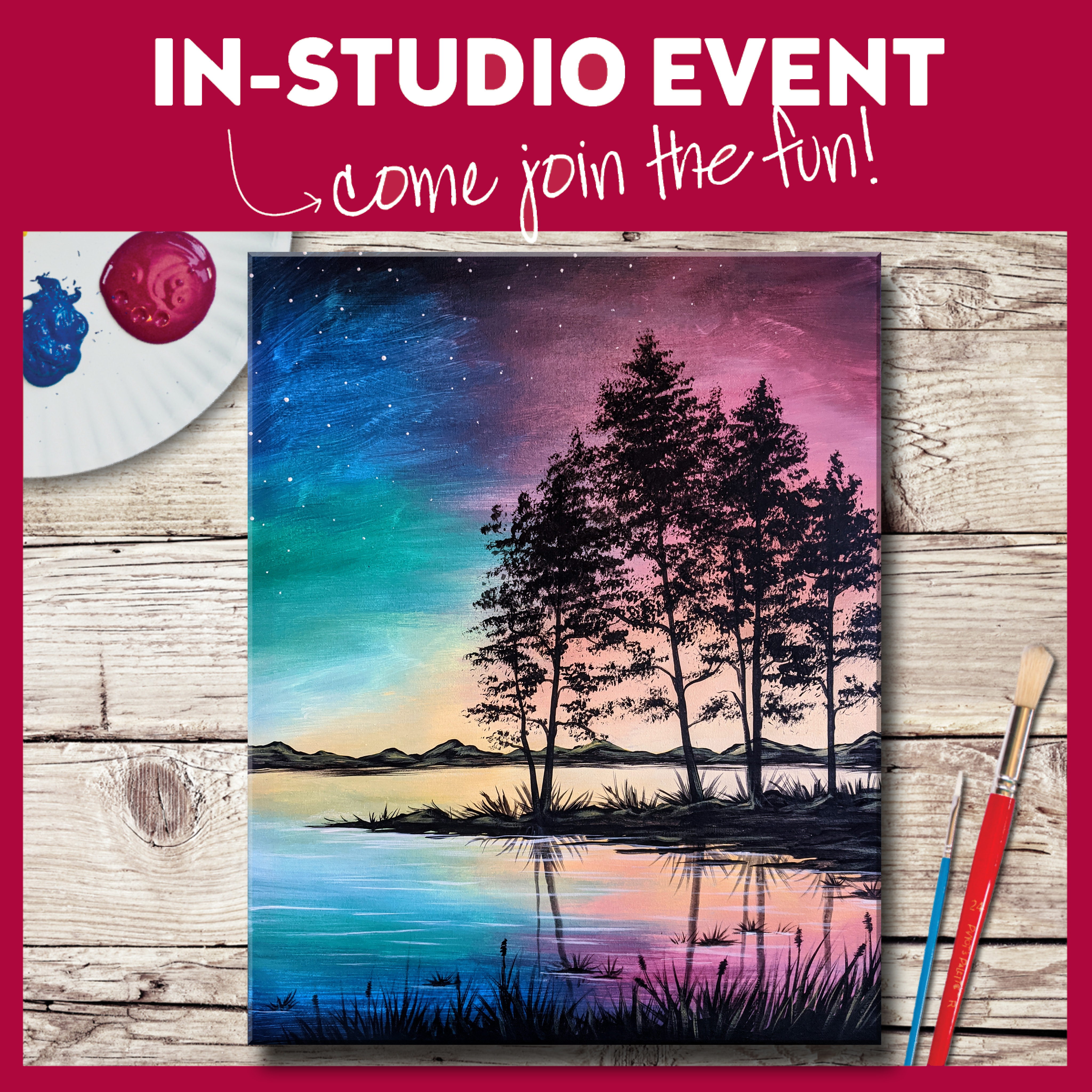 IN-STUDIO EVENT-A SERENE SUNSET