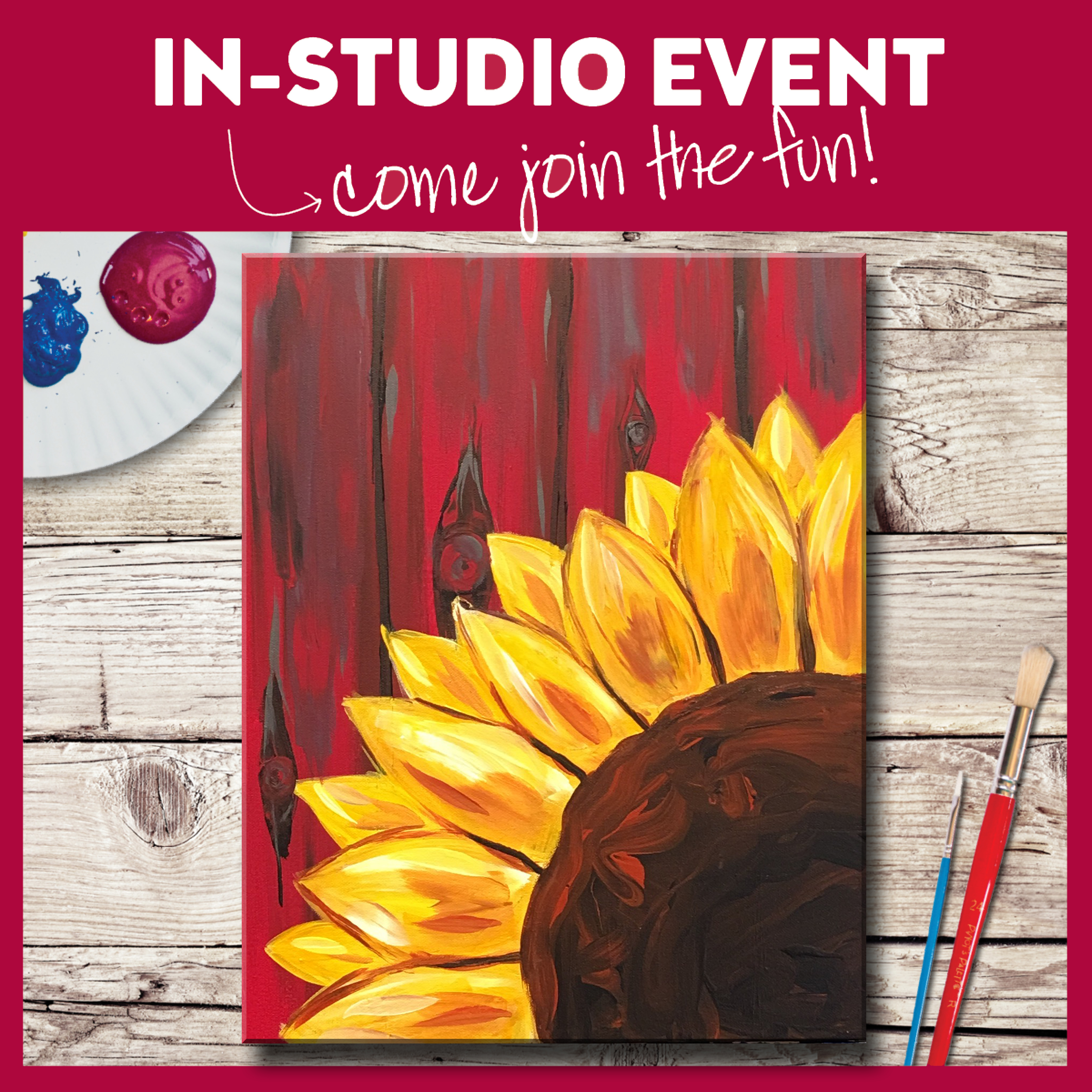 IN-STUDIO EVENT-BARNSIDE BLOSSOM
