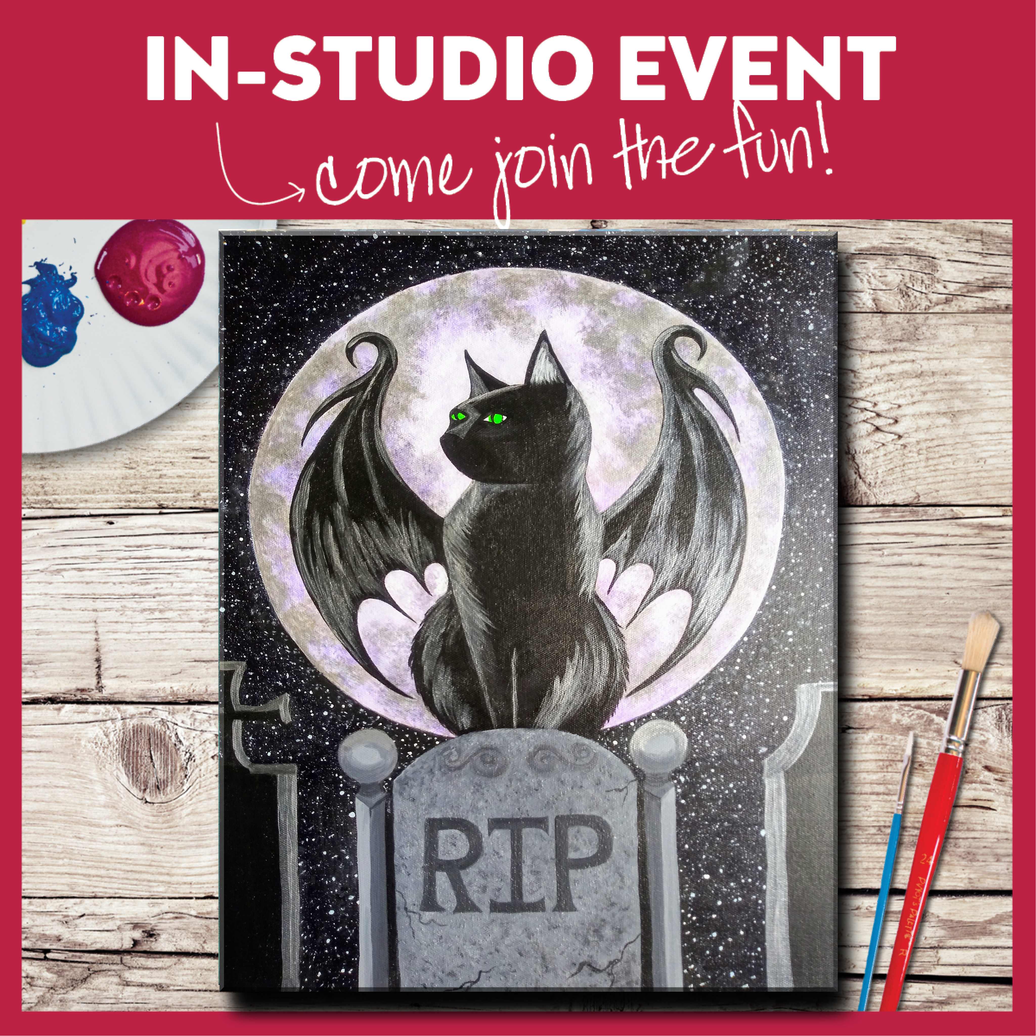 IN-STUDIO EVENT-BAT CAT