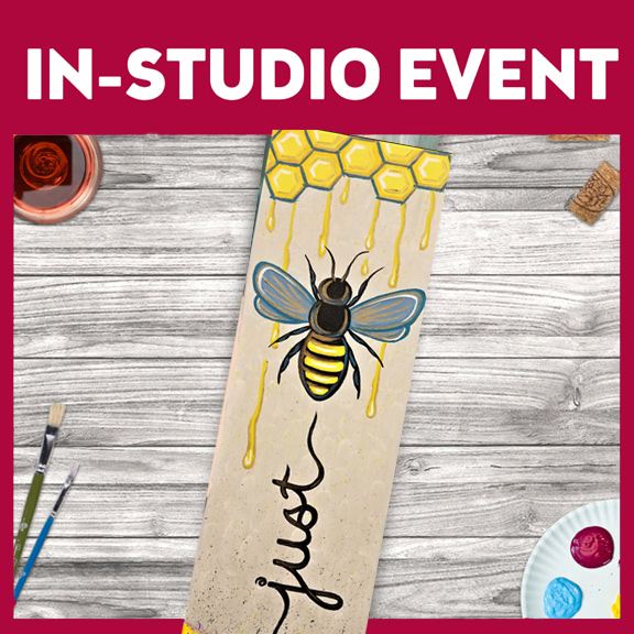 IN-STUDIO EVENT --  LIMITED SEATING JUST BEE U