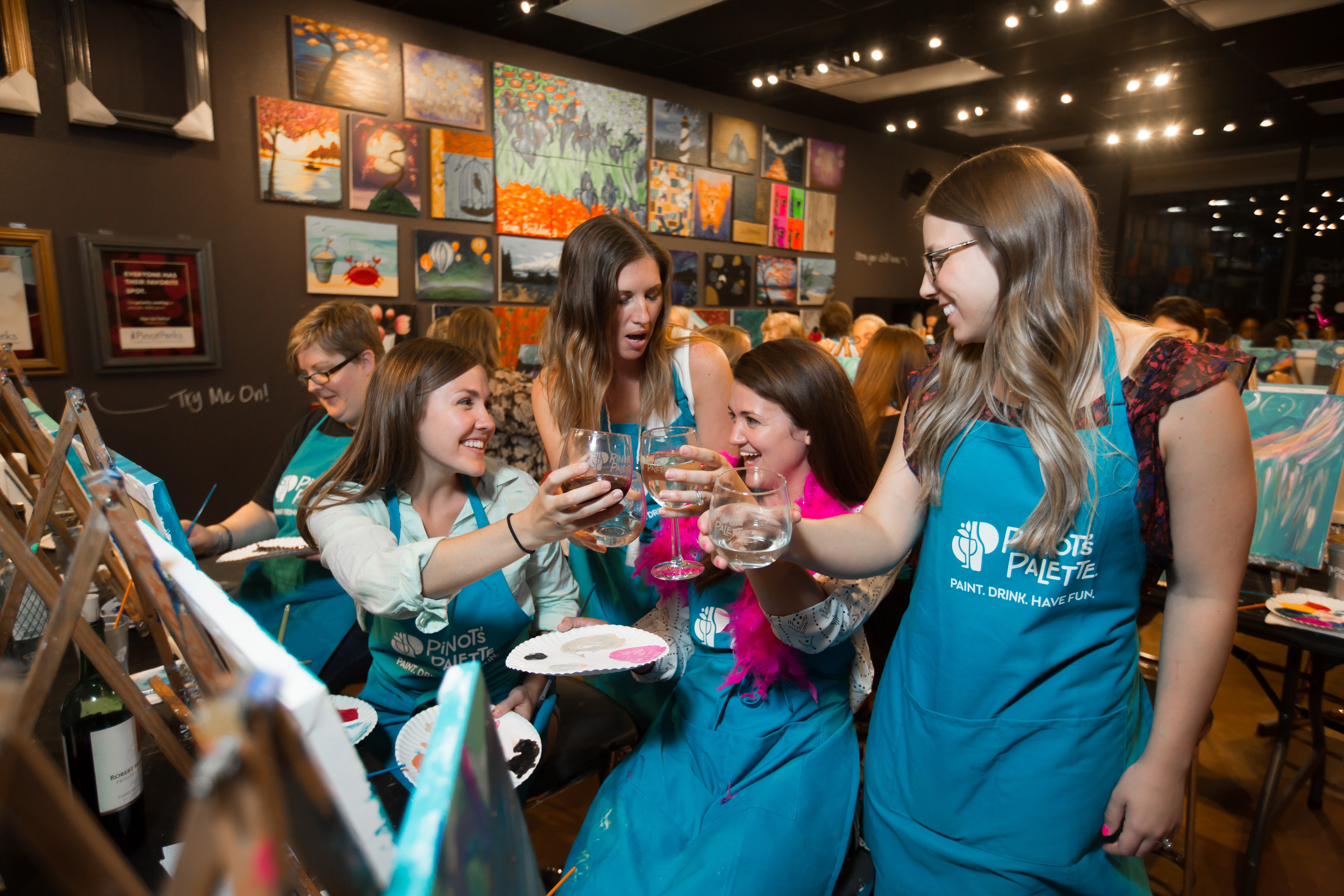 Private Parties At Pinot's Palette: What Are They All About?
