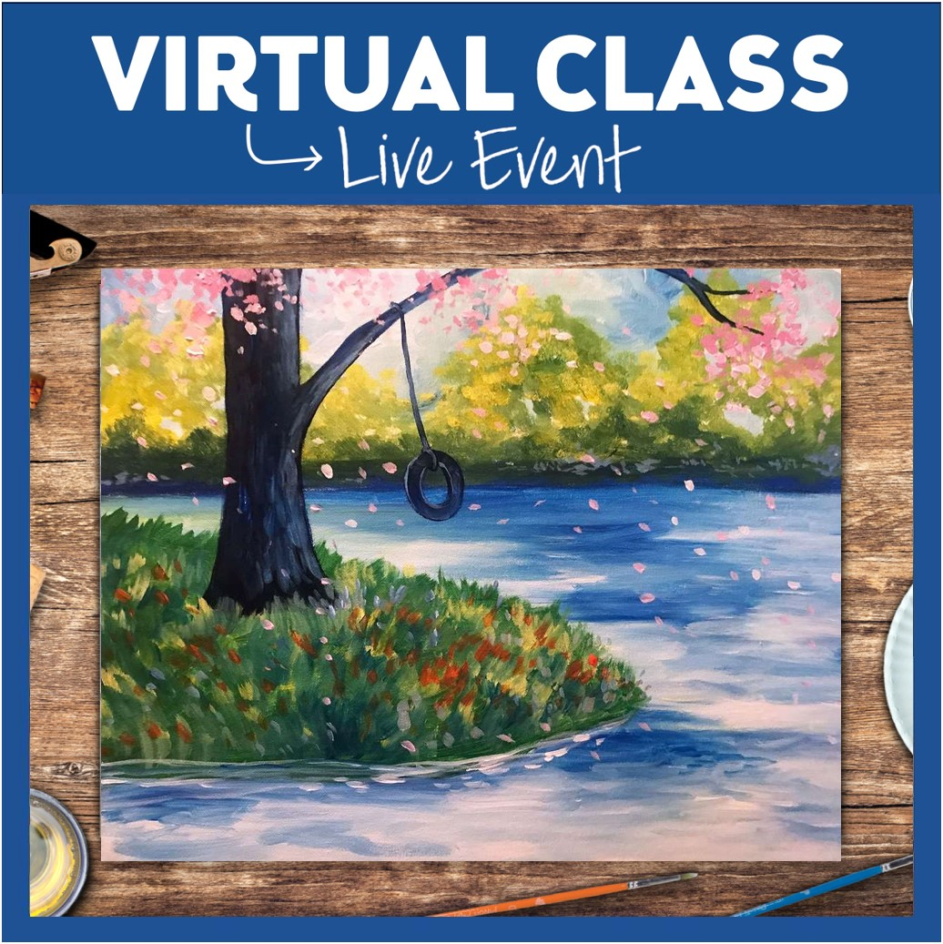 LIVE INTERACTIVE VIRTUAL CLASS - SUPPLIES INCLUDED