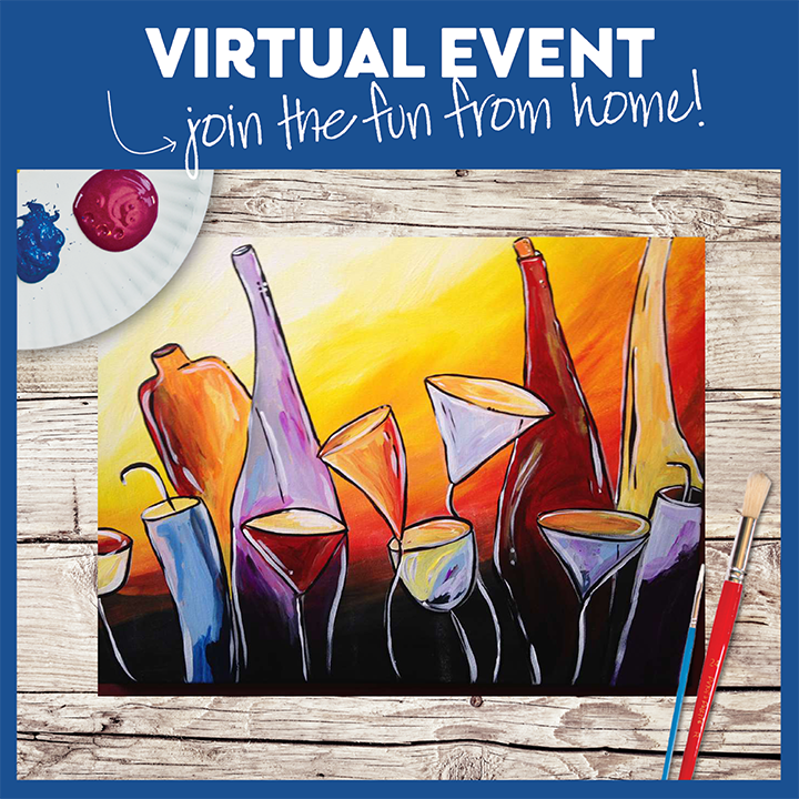 VIRTUAL EVENT --  ALSO ON-DEMAND TIPSY WINE GARDEN