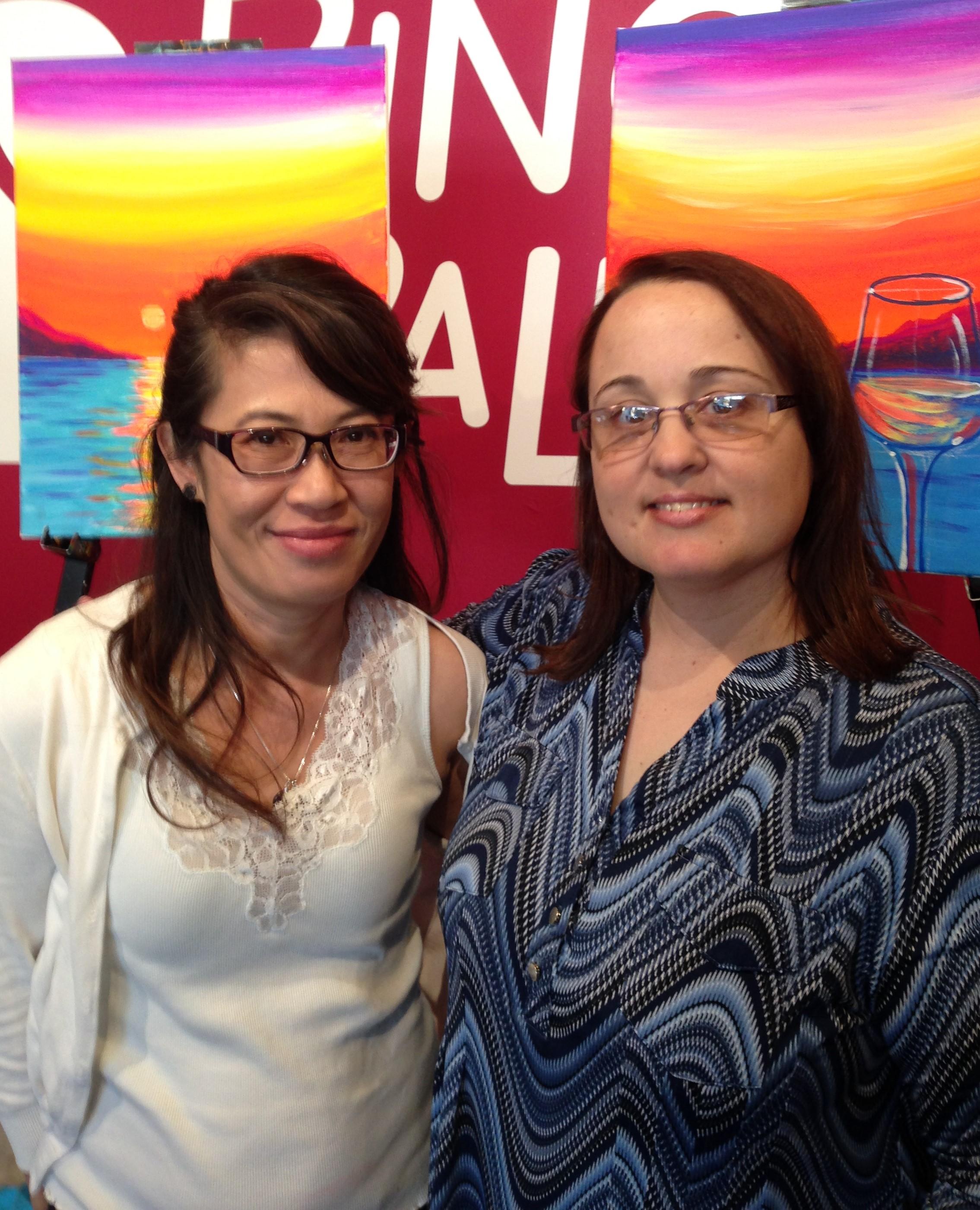 Kaneka Chim (left) - Event Organizer | Melissa Lewis (right) - director of OCSPCA