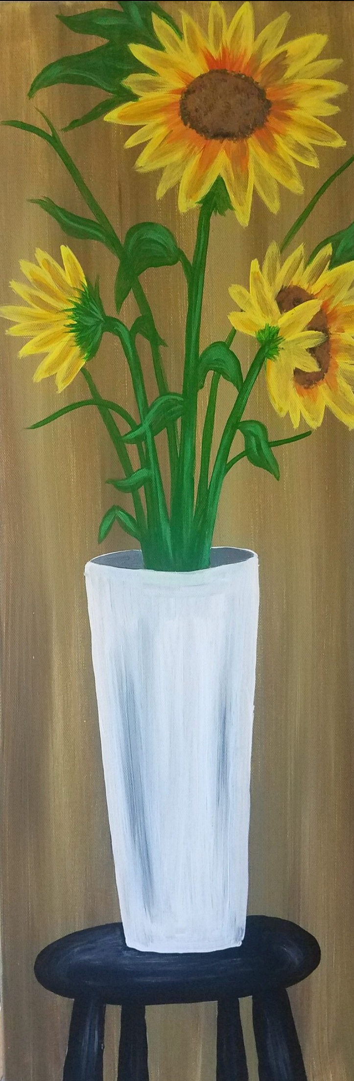 Sunflower Daze In A Vase