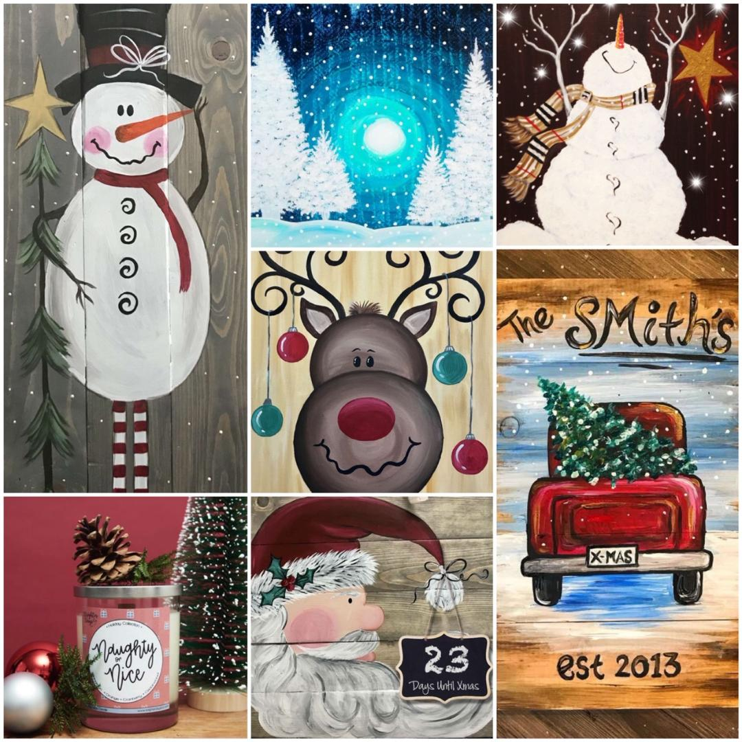 Holiday Paintings You're Going To LOVE!