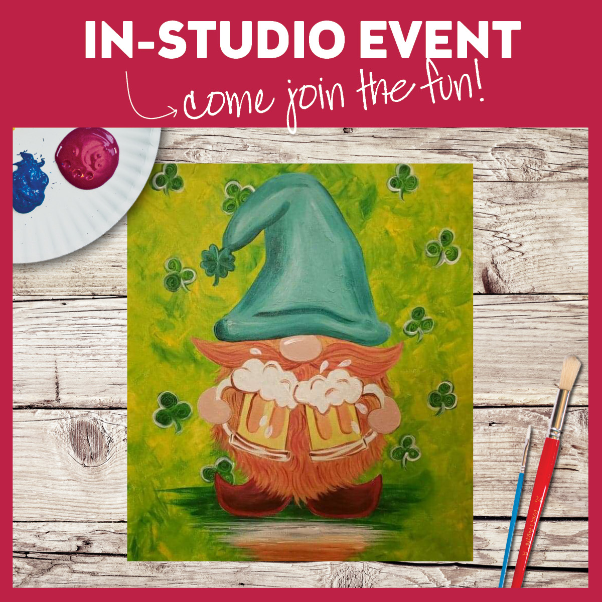 In Studio Event