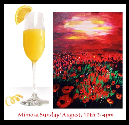 Join us for MIMOSA SUNDAY!