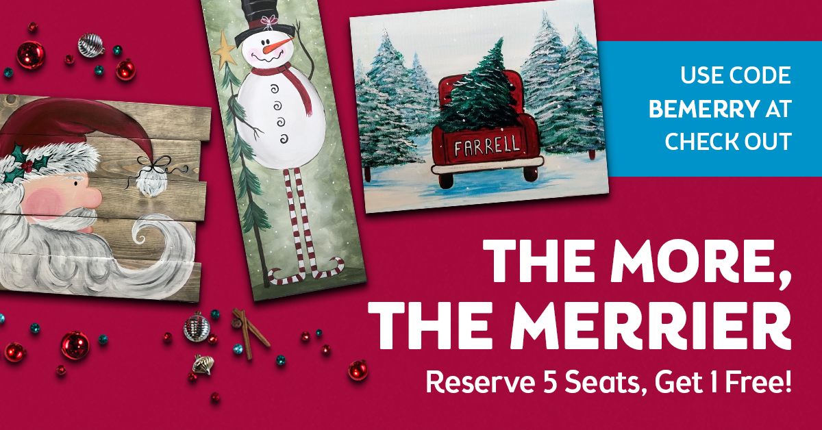 The More the Merrier - Holiday Group Discount!