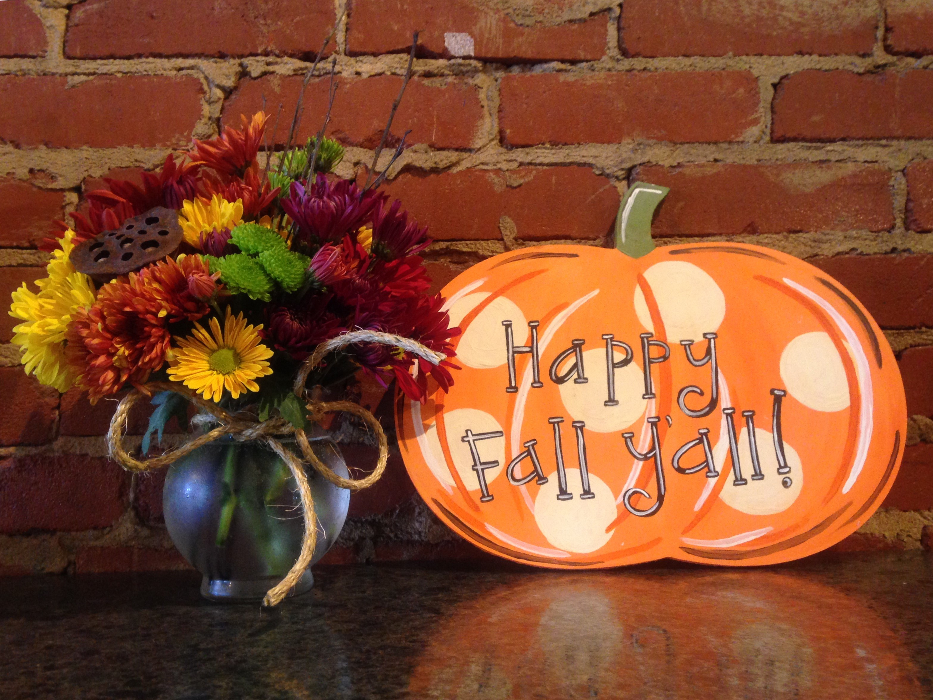 Pumpkin and fall decor