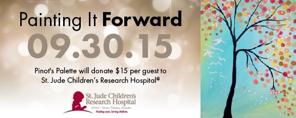 Painting it Forward for St. Jude Children's Research Hospital