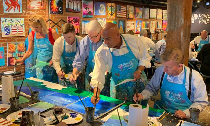 Jigsaw Painting Oklahoma City