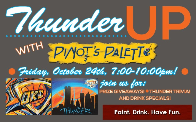 Kick Off October at Pinot's Palette!
