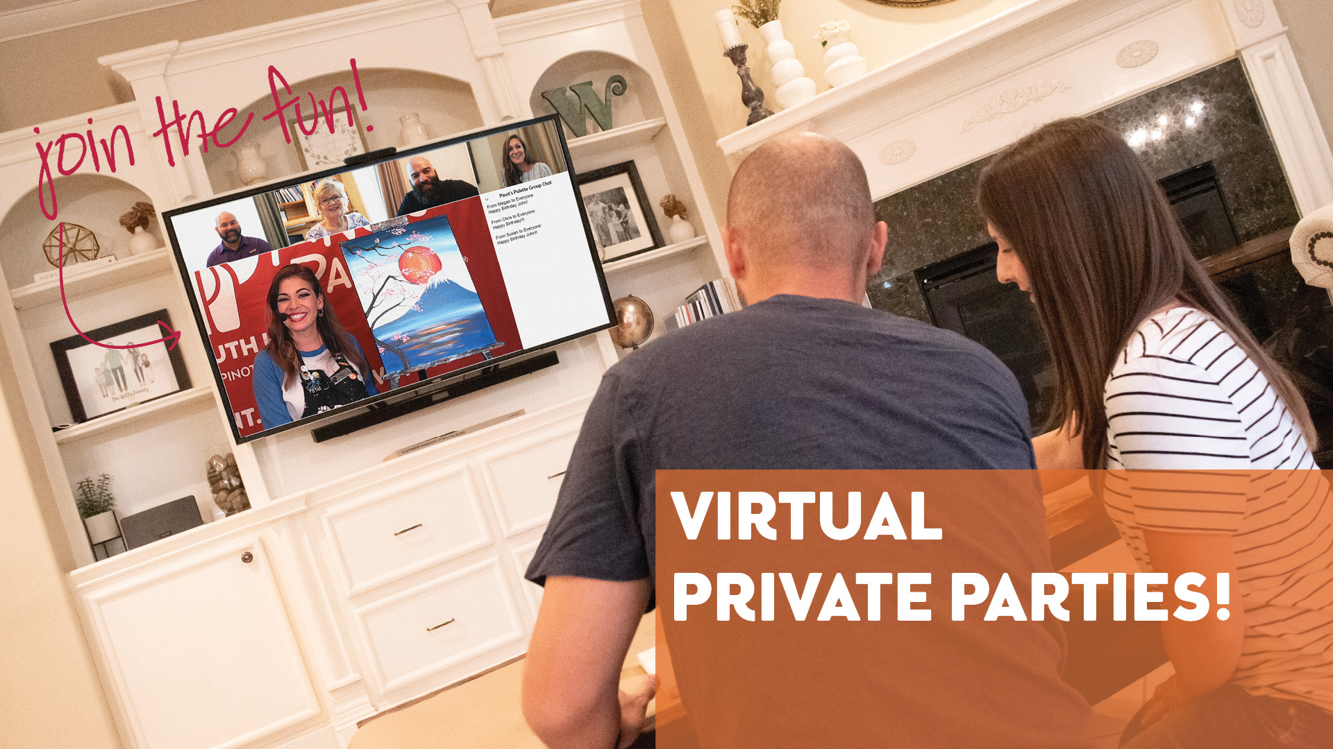 LIVE Virtual Private Parties