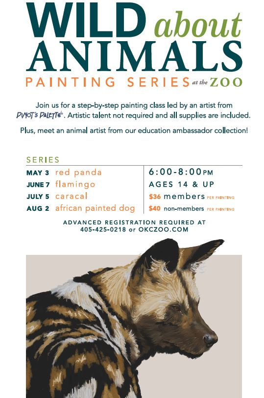 painting classes at the zoo