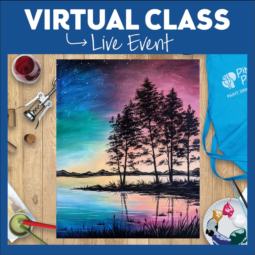 Virtual Live or Replay - A Serene Sunset