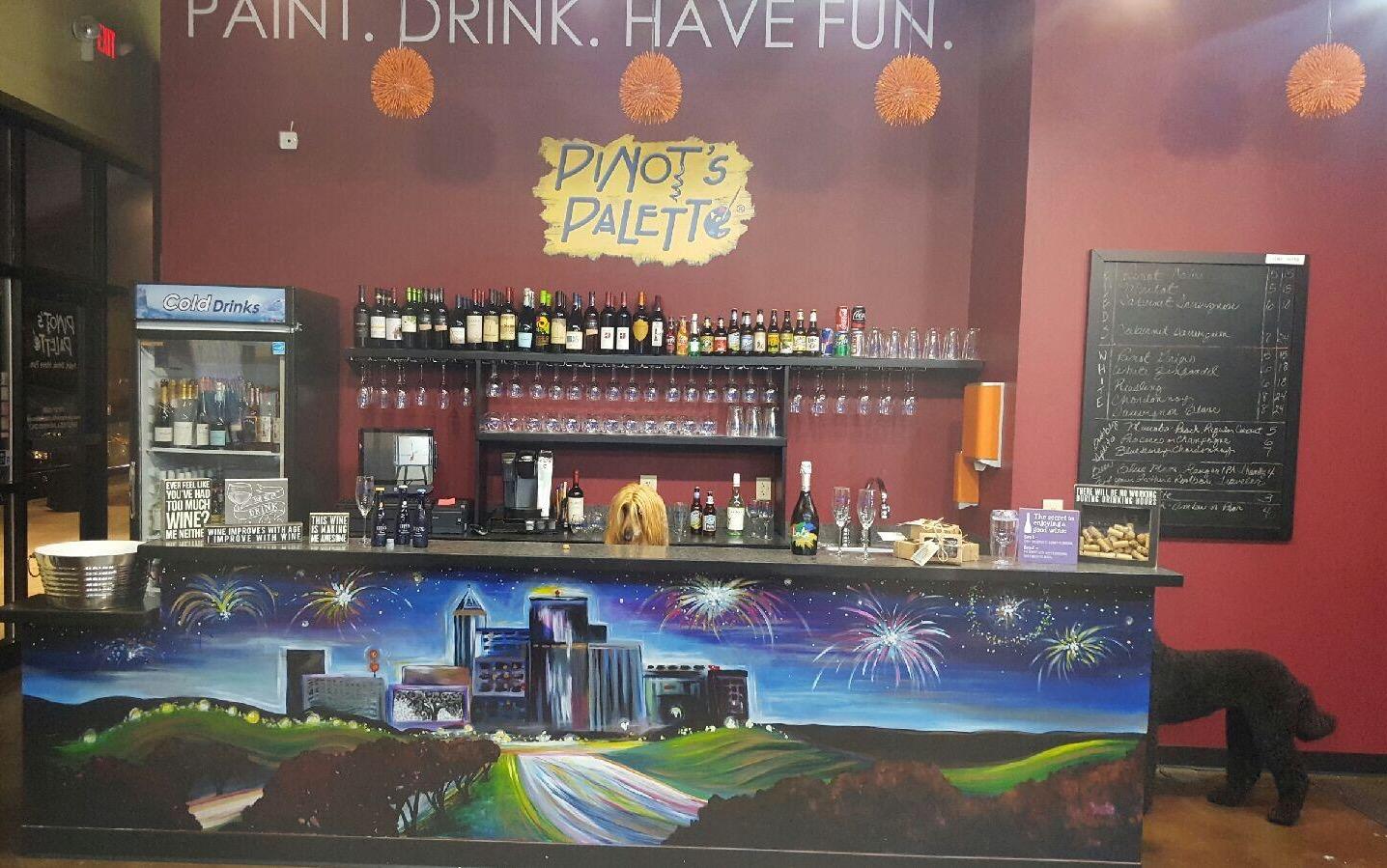Brier Creek Bar Menu Pinots Palette