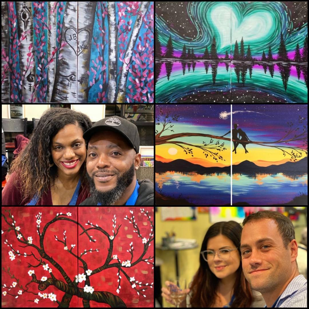 Date Night Classes At Pinot's Palette!