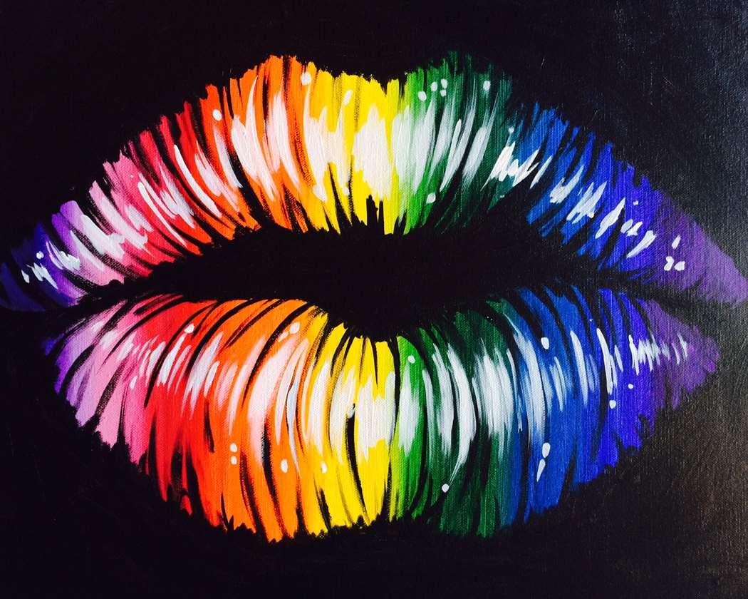 June Is LGBT Pride Month! Join Us For A Special Painting Class To Celebrate The 50th Anniversary!