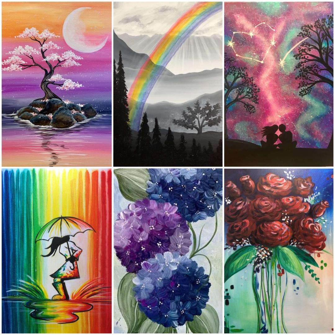 NEW Paintings & Other Special Classes In March