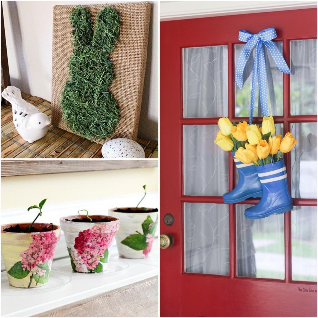 Easy DIY Springtime Crafts!