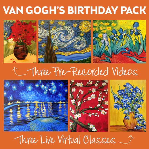 We're Celebrating Van Gogh's Birthday With Some Special Classes!!!