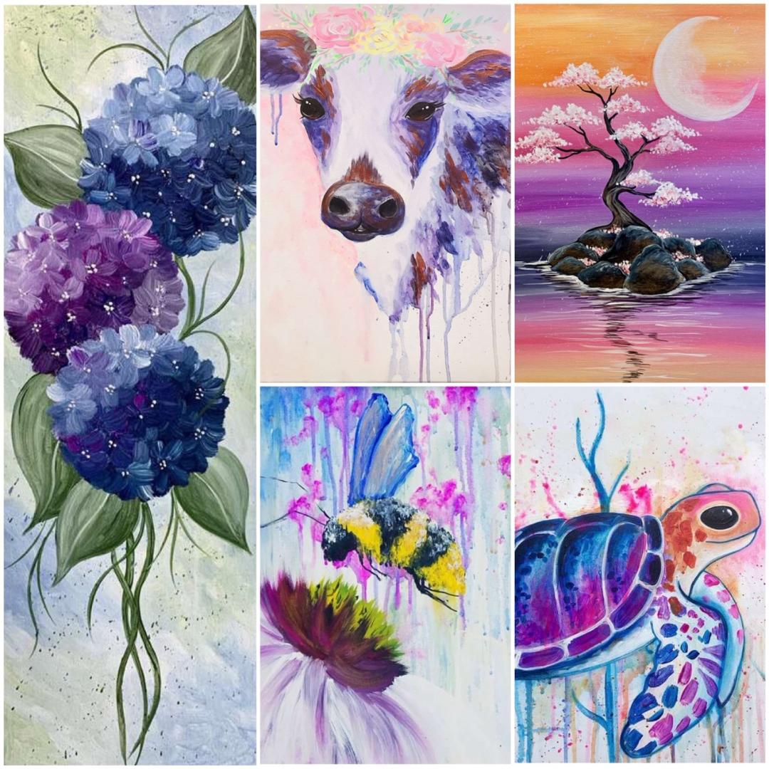 Join Us For These Watercoloresque Beauties