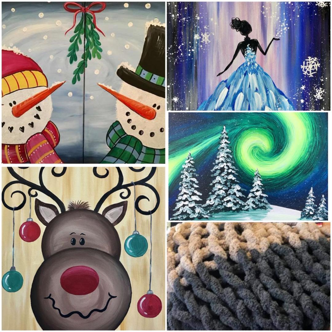 Holiday Artwork That Will Make Your Home Merry & Bright