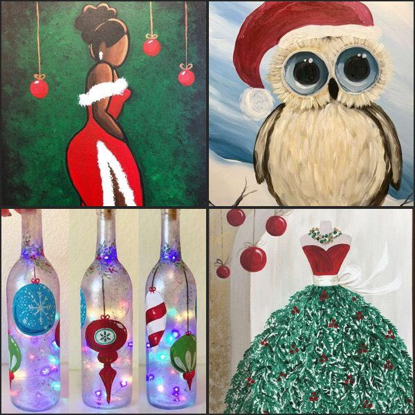 Decorate Your Home With Some Handmade Artwork This Holiday Season!