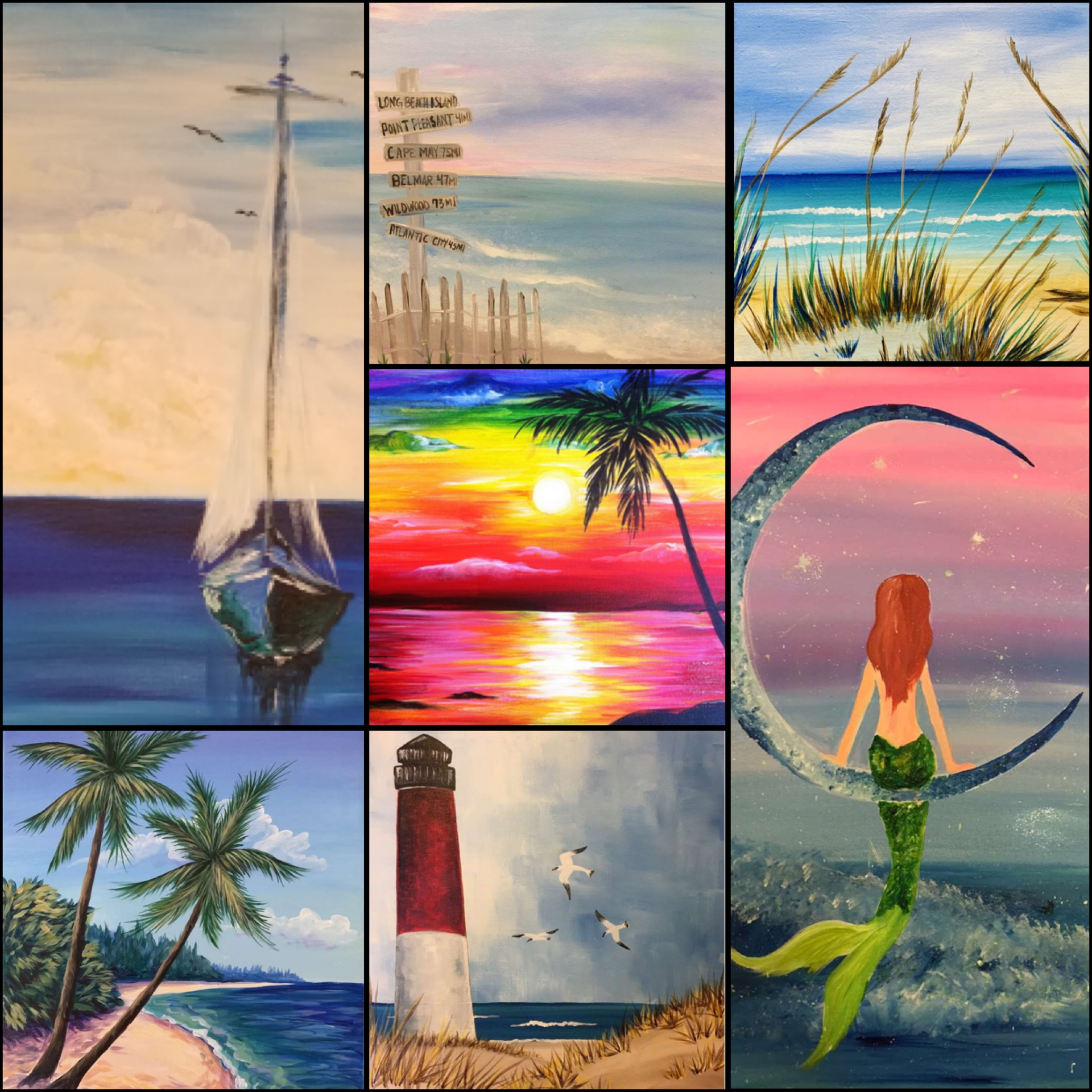You'll Get Some Big Summer Vibes From These Paintings!