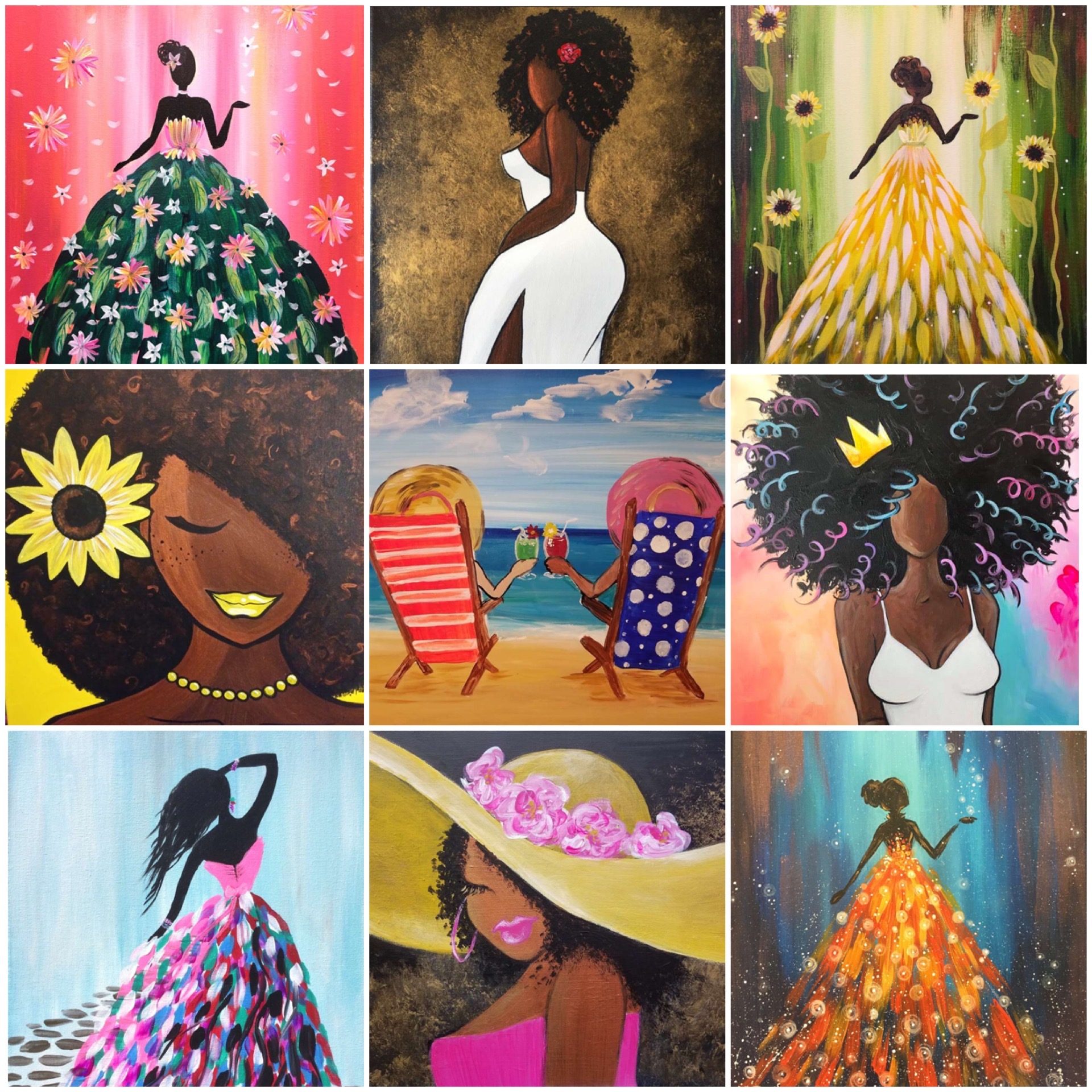 All The Ladies Will LOVE These Paintings!