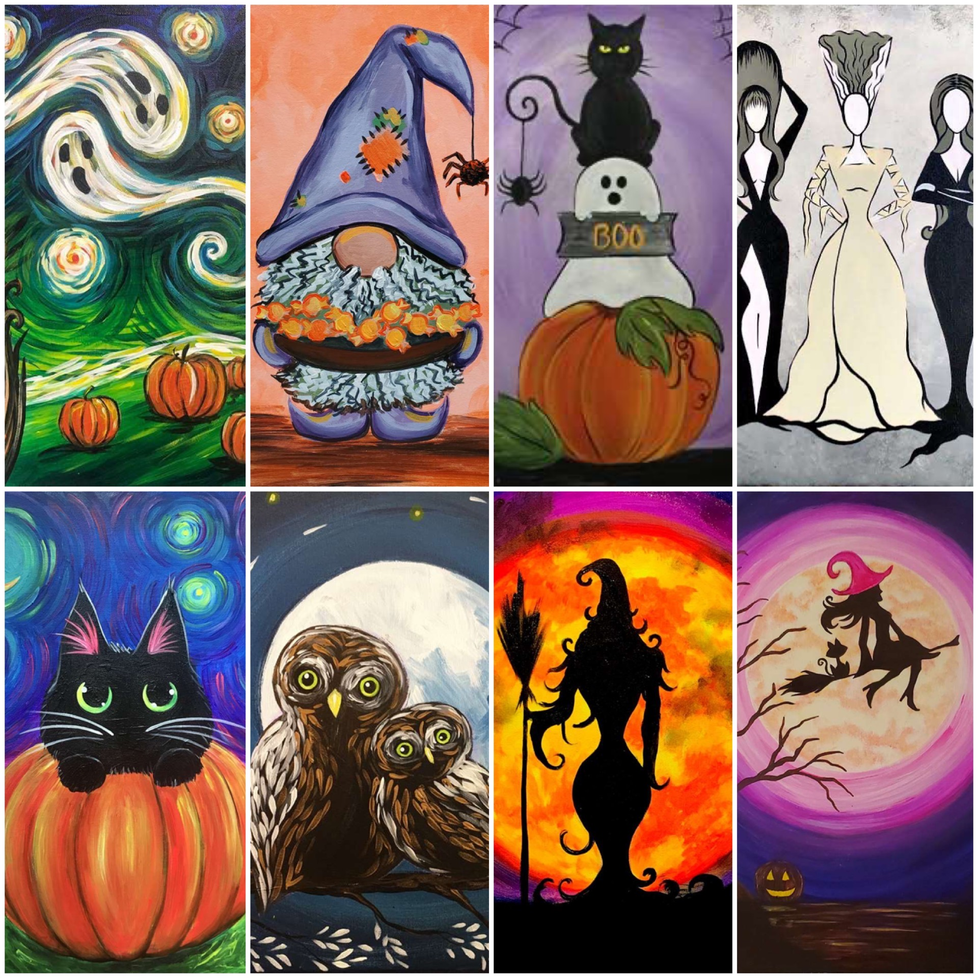 Halloween FUN With Pinot's Palette!