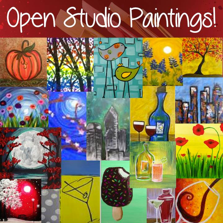 Open Studio At Pinots Palette Thu Mar 08 11am At Brier Creek