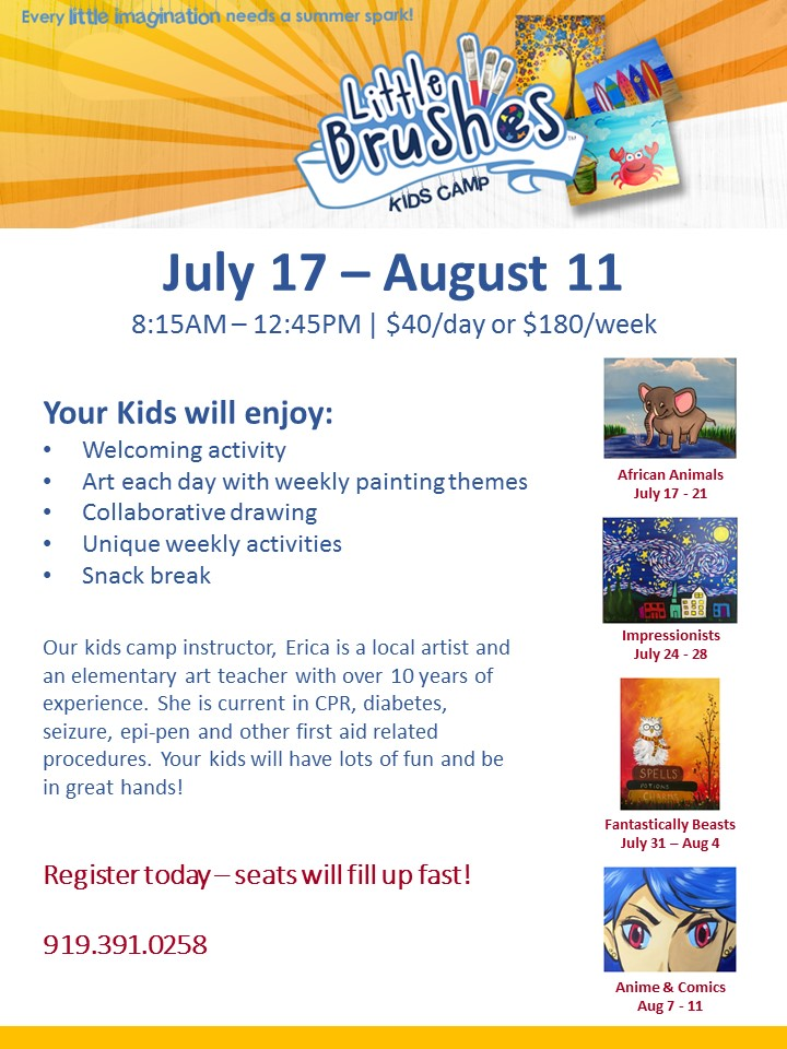 Kids camp detail