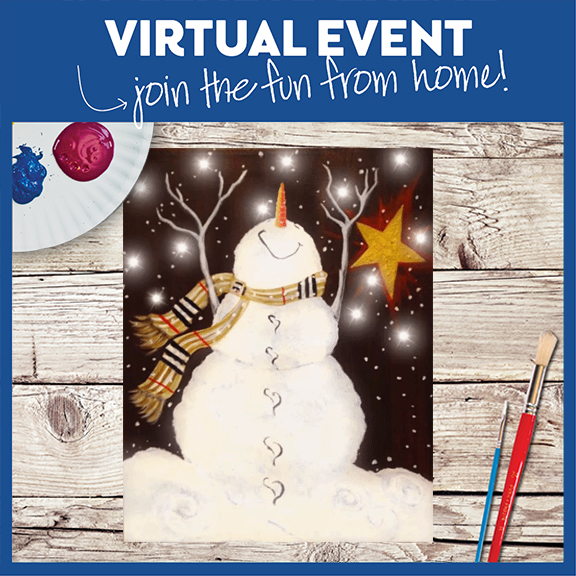 Virtual Live  or Replay- Snowman's Bliss