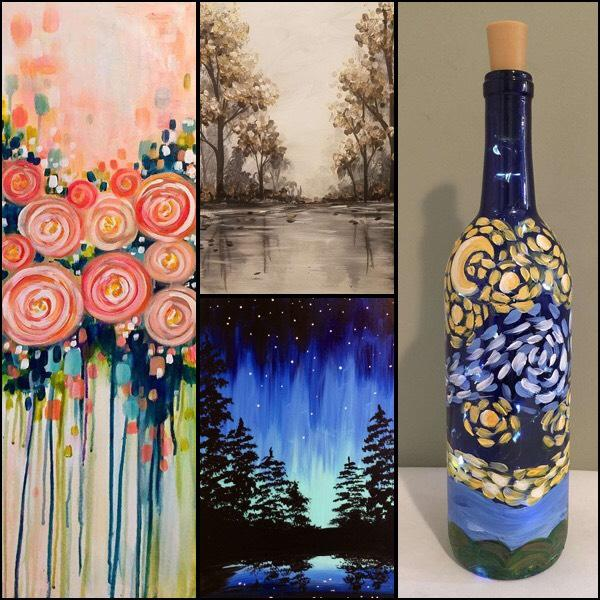 Join Us All Month Long For These Excellent Classes Pinots Palette